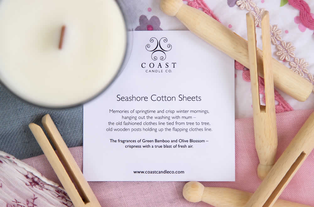 Seashore Cotton Sheets