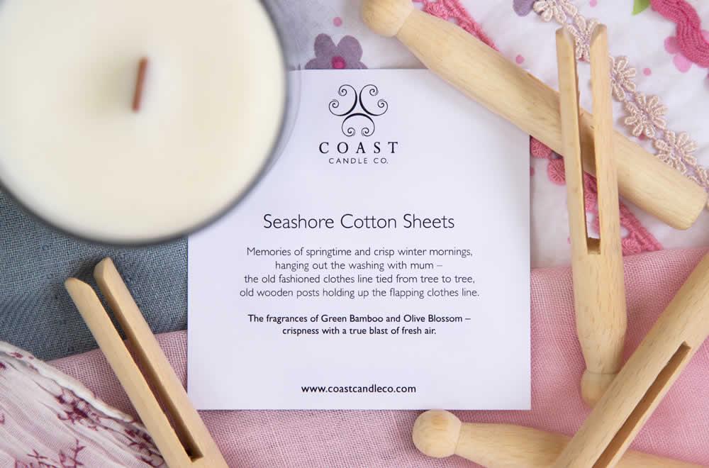Seashore Cotton Sheets