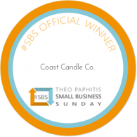 Coast Candle Co SBS Winner
