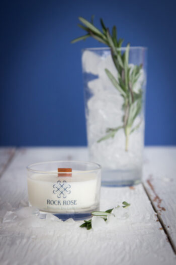 Rock Rose Gin Travel Candle