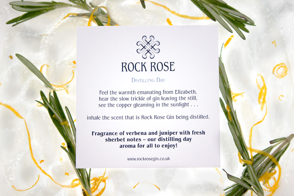 Rock rose Gin storycard